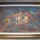Marvelous unsigned oil on canvas painting