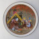 """Hansel and Gretel"" Rare Royal Bavaria KPM Germany Porcelain Signed Plate"
