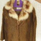 Konrad Furs London - Stunning Vintage Genuine Fur Coat Jacket