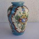 Arnold Weiss Israeli artist marvelous hand painted ceramic vase