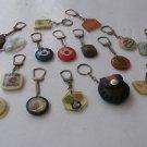Vintage Marvelous Lot of 16 unusual Israel Keychains