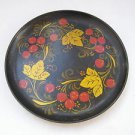 Vintage Marvelous Russian Hand Painted Collectable Wooden Plate