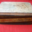 Rare BEIGEL Salt Sticks Tin Box Israel 1950's, 60's