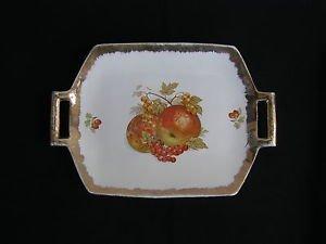 Vintage Marvelous Royal colorful porcelain platter plate