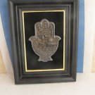 """""""Blessing for the Home"""", Israel Jewish Silver Plated Hamsa Amulet Talisman Sign"""