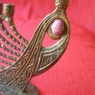 Vintage Marvelous Tamar Brass Hanukkah Menorah Israel Export Quality 1969