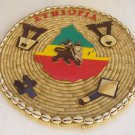 Vintage Marvelous Handmade Ethiopian Ethiopia Falasha Wall Decor Art Craft
