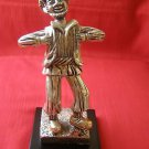 925 Silver & 14k Gold Plated Jewish Rabbi Figurine WOW