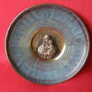 Rare Madonna & Baby Jesus, Israel Zel Zion Brass Plate