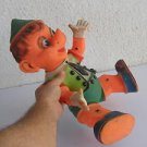 Spectacular vintage GIANT unusual Pinocchio rubber doll 1200gr