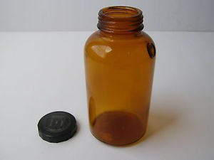 Marvelous vintage E.R.SQUIBB & SONS collectable medicine Jar