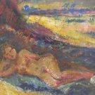 Henri Charles Manguin  (French, 1874–1949) oil on cardboard