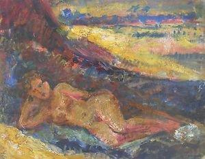 Henri Charles Manguin  (French, 1874�1949) oil on cardboard