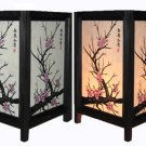Asian Japanese Sakura Tree Desk, Table Lamp Lighting Home Decor Room Lamps