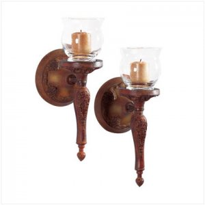 Antique Finish Wall Sconces