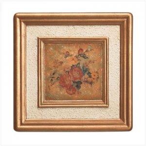 Antque Rose Painting