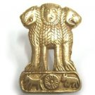 Customized Brass Army Decal Indian Emblem Decals - 2 Pcs