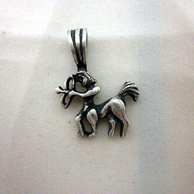 Sagittarius 19.6 x 25.8mm zodiac solid 925 silver pendant