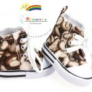 Cons Sneakers Shoes Coffee Beans for American Girl doll