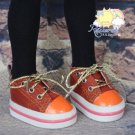 """Lace-Up Chunky Sneakers Shoes #K24 for MSD Kaye Wiggs BJD Dollfie 16"""" Sasha Doll"""