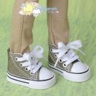 Releaserain Doll Shoes Ankle Sneakers Boots Olive FIT Slim-Regular MSD BJD
