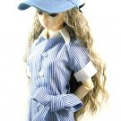 Super Dollfie SD/SD13 DOT Doll Visor Cap Hat Denim Blue