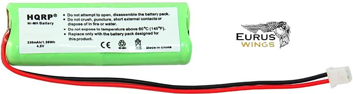 HQRP Battery for Dogtra 1900 Series 1900-NCP 1902-NCP Receiver