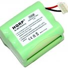 HQRP 2200mAh Battery compatible with Mint 4200 Robotic Vacuum Cleaner GPHC152M07