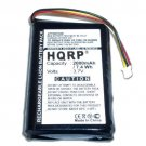 HQRP 2000mAh Battery for Logitech L-LB2 MX-1000 Laser Cordless Mouse