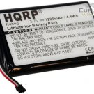 HQRP Battery for Garmin Nuvi 2455LMT/LT 2475LT 2495LMT 2555LMT/LT 2595LMT