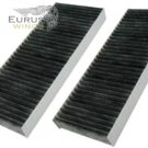 HQRP Activated Charcoal Cabin Air Filter for Nissan 999M1-VR056