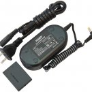 HQRP AC Power Adapter + DC Coupler for Canon ACK-DC30 NB-5L