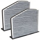 2-Pack HQRP Charcoal Cabin Air Filter for VW City Jetta Passat CC GTI Beetle