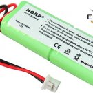 HQRP Battery for Dogtra BP12RT BP-12 28AAAM4SMX 40AAAM4SMX