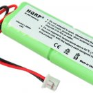 2-Pack HQRP Batteries for Dt-Systems EDT 100 102 200 202 300 302 Receiver