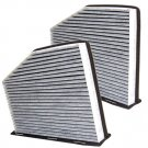 2-Pack HQRP Cabin Air Filter for R32 City Golf EOS Rabbit Routan Tiguan