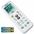 HQRP Universal A/C R/C LCD Display Remote Control for Air Conditioners °C / °F