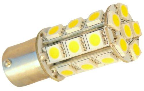4x HQRP BA15s LED Bulbs for #1129 Bargman 30-78-533 Hurricane 31J Four Winds RV