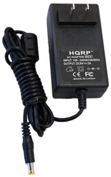 HQRP AC Adapter for DigiTech Trio Band Creator Guitar Effects Pedal