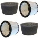 2x HQRP Cartridge Filters & Foam Sleeves for Shop-Vac 90304 9030400 9058500