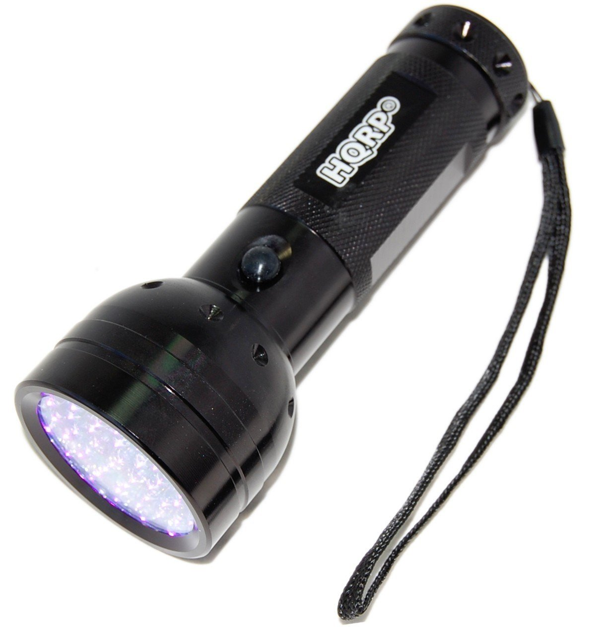 HQRP Portable Ultra Violet Black UV Torch Light Fake Money Detector + Glasses