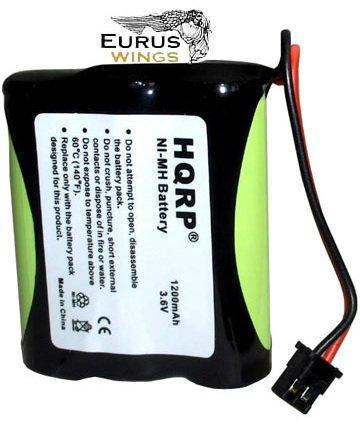 HQRP Phone Battery for RadioShack 23-895 23-897