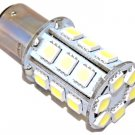 12x HQRP BA15D 24-SMD 5050 1076 1142 68 90 Boat Marine Light LED Bulbs 12V