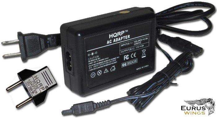 HQRP AC Adapter Charger for JVC Everio GR-D33ER GR-D33U GR-D33US GR-D43 GR-D43U