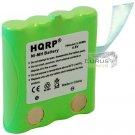 2x HQRP Battery for Uniden GMR3689-2CK GMR638 GMR638-2 GMR638-2CK GMR638-3CK