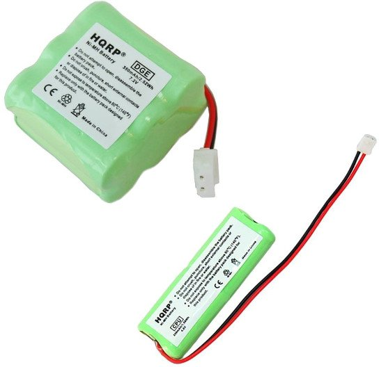 HQRP Battery Kit for Dt-Systems EDT-100 EDT-102 EDT-200 EDT-202 EDT-300 EDT-302