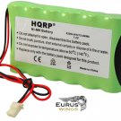 HQRP Battery for ADT Safewatch LYNXRCHKIT-HC LYNXCHKIT-SC