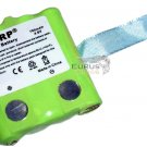 2-Pack HQRP Two-Way Radio Battery for Uniden BP-38 / BP-40 Replacement