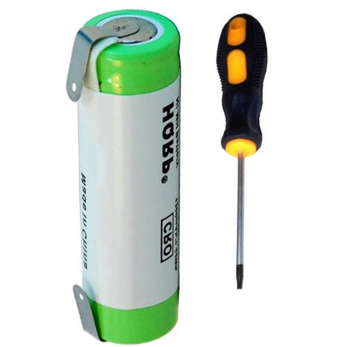 HQRP Battery for Braun 6550 7493 7497 7504 7510 7514 7516 7540 7546 7640