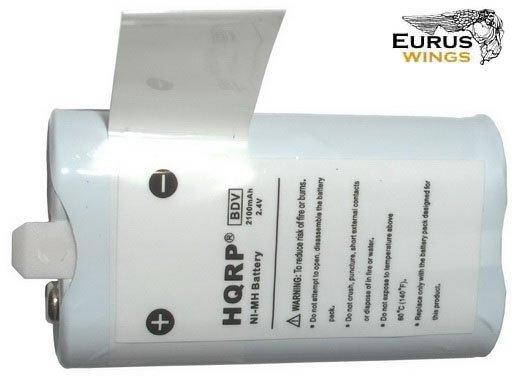 HQRP Battery Pack for Flip Video U1120P U1120W U1120Y